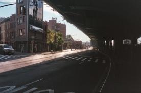 under an overpass, Brooklyn, NY